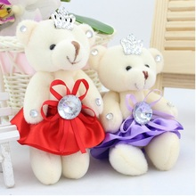 Stuffed Toys for Children Cartoon bouquet of packaging materials Wedding Bottle Teddy Bear,Toys for Girls,Valentine's day gifts