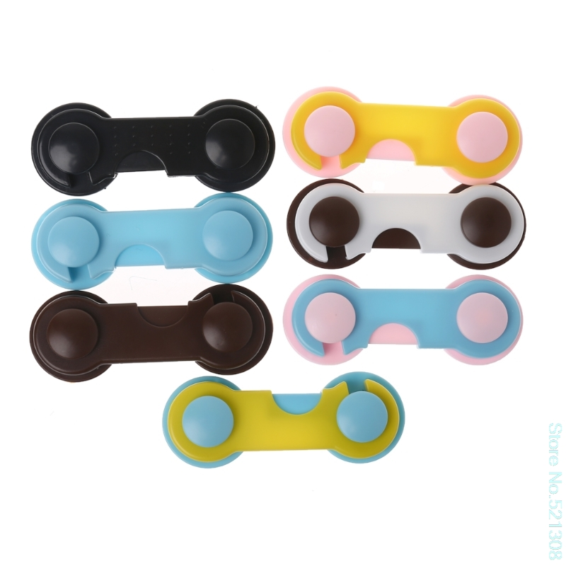 Care Baby 4Pcs Doors Drawers Wardrobe Toddler Baby Children Protection Safety Plastic Lock Convenient Drop Ship