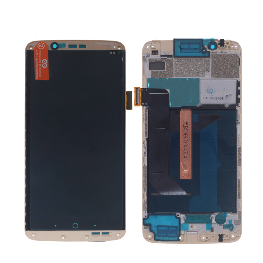 Image 3 - Original AMOLED For ZTE Axon 7 LCD with frame display Touch Screen Digitizer Assembly For ZTE A2017 A2017U A2017G Axon7 LCD-in Mobile Phone LCD Screens from Cellphones & Telecommunications