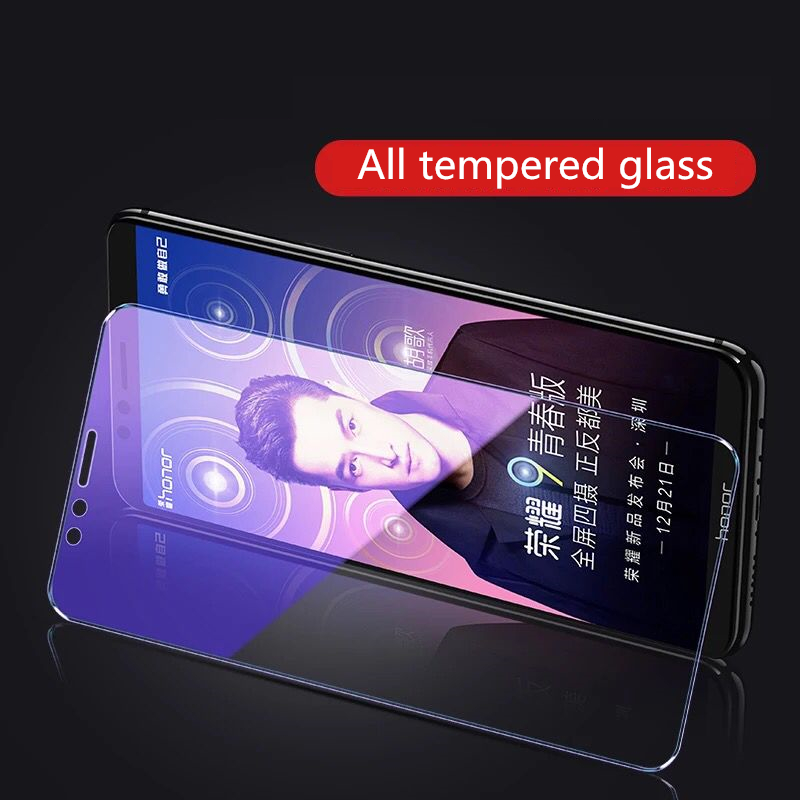 Image 5 - 2Pcs/lot Full Tempered Glass For Huawei Honor 9 Lite Honor 10 Screen Protector 9H Anti Blu ray Glass for huawei honor 9 lite-in Phone Screen Protectors from Cellphones & Telecommunications on