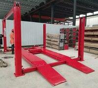 Hot Koop 4 Kolom Auto Machine Met Link Chain 4000 kg Wieluitlijning Autolift
