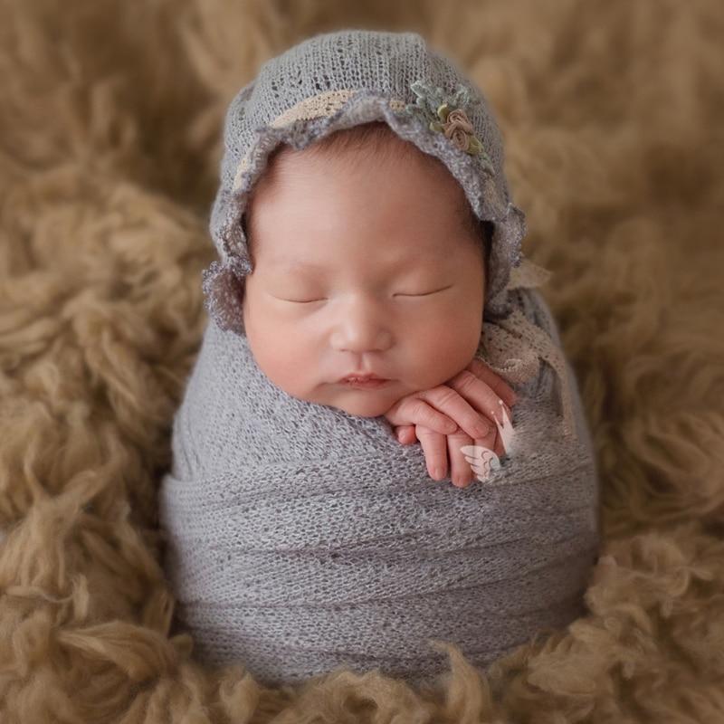 Neugeborene Fotografie Props Baby-häkelarbeit Kostüm Foto Caps ...