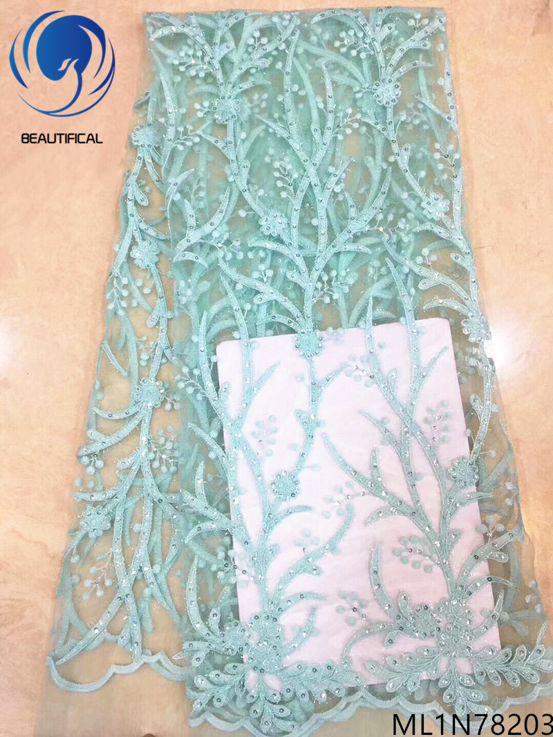 BEAUTIFICAL nigerian mesh embroidery french african tulle lace fabric 2019 new african lace free shipping ML1N782BEAUTIFICAL nigerian mesh embroidery french african tulle lace fabric 2019 new african lace free shipping ML1N782