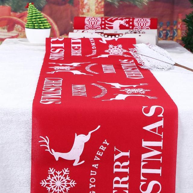 Świąteczny obrus - aliexpress