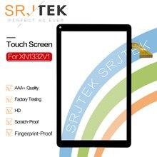 Сенсорный экран SRJTEK 10,1 дюйма для XN1332V1, панель для планшетного ПК, дигитайзер, стеклянный сенсор, ремонт, запасные части для XN1332V1 Touch