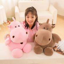 Cute Cartoon Fat Hippos Doll Plush Toys Stuffed Animal Toy Soft Pillow Girls Birthday Gift Children