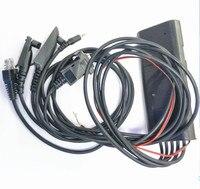 5 in 1 Programming Cable for Motorola GP88 GP340 GP328 Plus GP2000 GP3188 CP150 CB Two Way Radio GM300 Mobile Radio