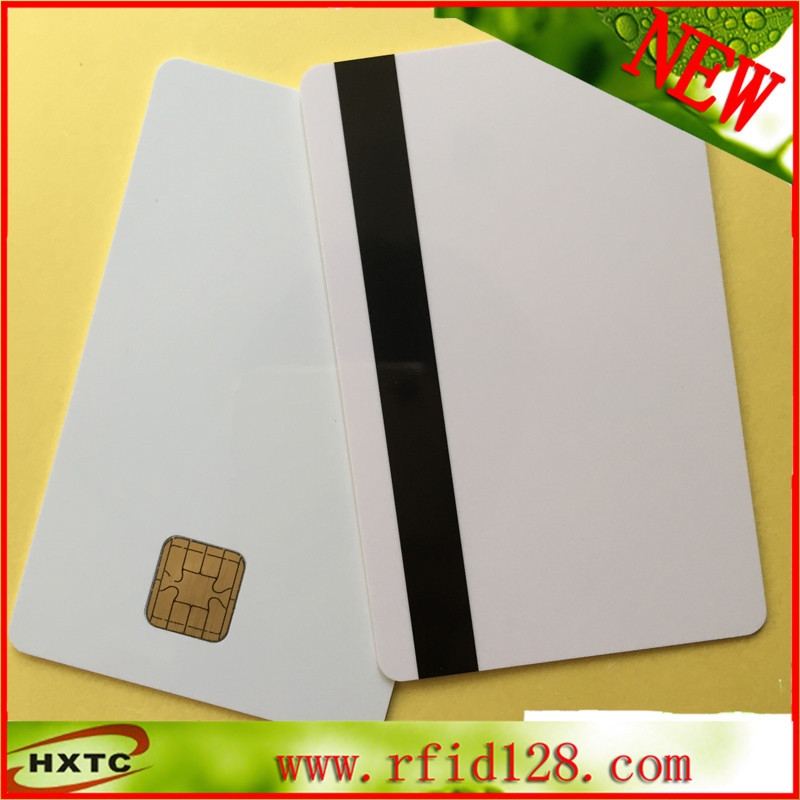 Factory price 500PCS/ Lot J2A040 Chip with 2track Hi-co MagStripe JAVA Card Compatible JCOP21-36K
