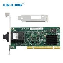 LR-LINK 7210PF-SC-LX PCI gigabit Ethernet сетевой карты 1000 МБ SMF Оптический рабочего адаптер компьютер Intel 82545 Nic