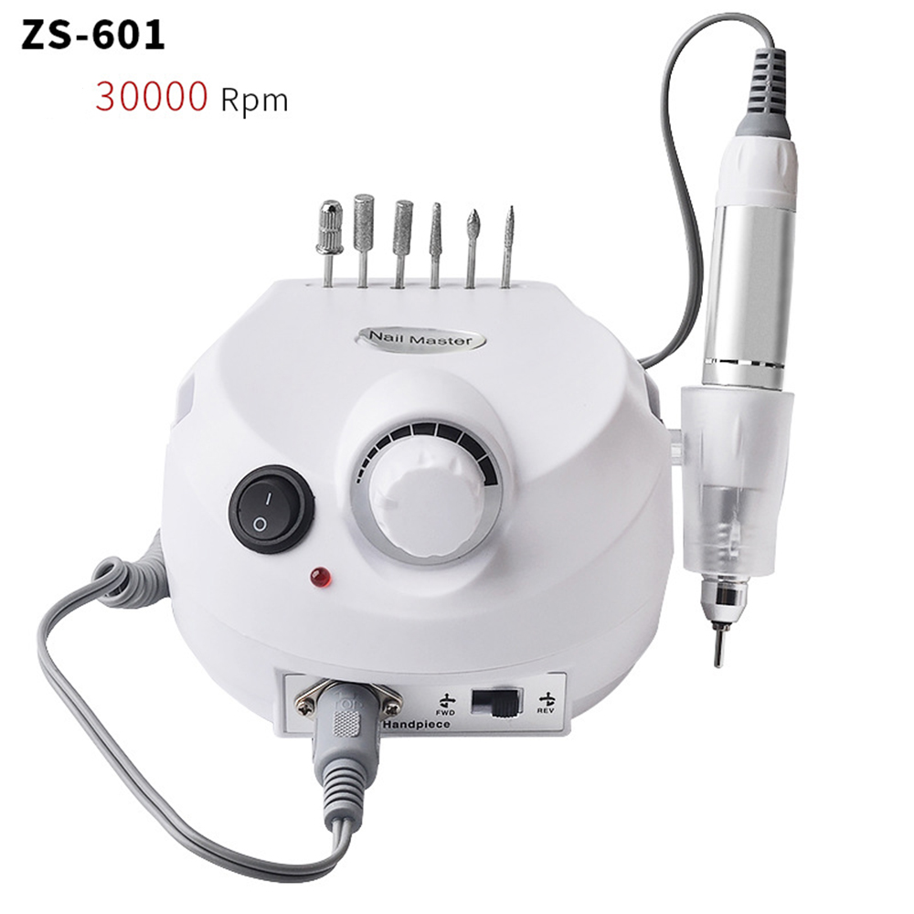 30000RPM Electric Nail Drill Machine Electric Manicure Machine Drills Accessory Pedicure kit Nail Drill File Bit Nail tools Kit цена