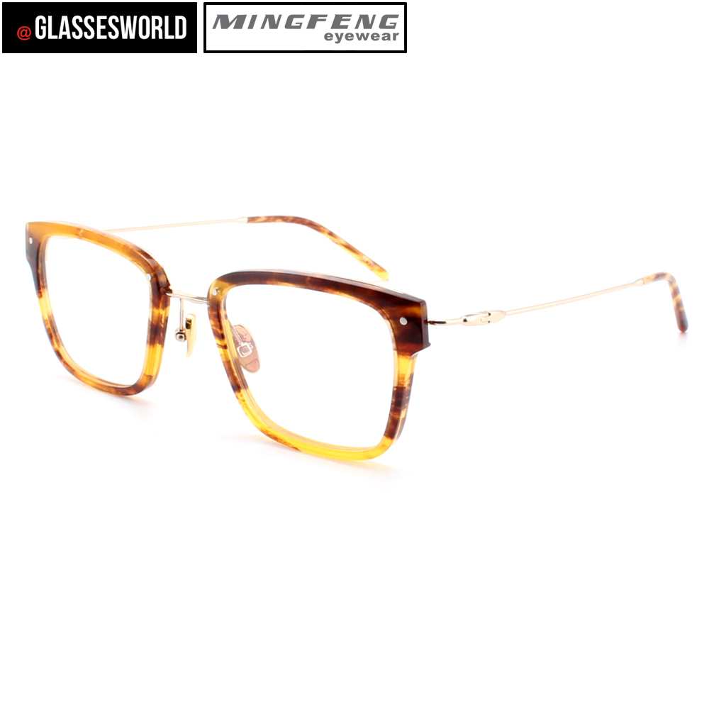 6224175defe1 New style eyeglasses frames acetate optical frames with metal reading  glasses 86087-in Eyewear Frames from Apparel Accessories on Aliexpress.com