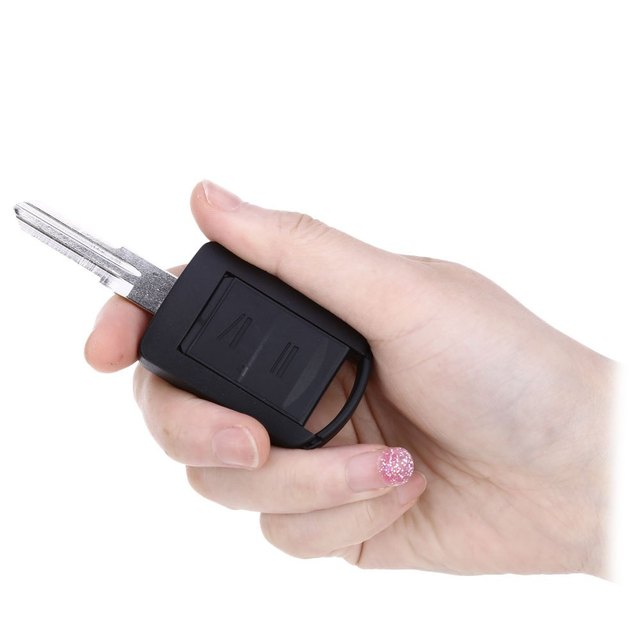 A41 Car Remote Key Holder Case Shell 2-button Protecting Cover for Opel Protect Buttons From Excessive Wear with Rubber Material