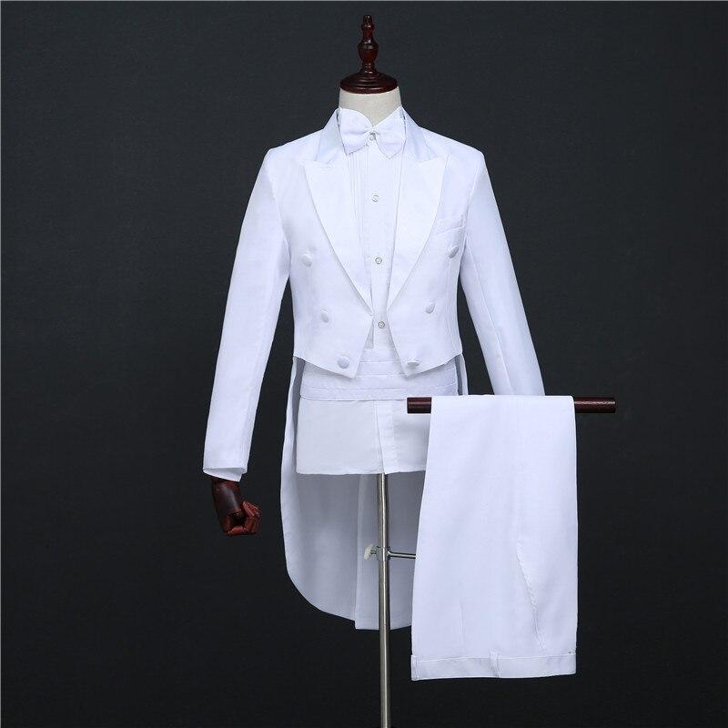 Tuxedo magic wedding prom trajes formales novio ropa de hombre - Ropa de hombre - foto 5