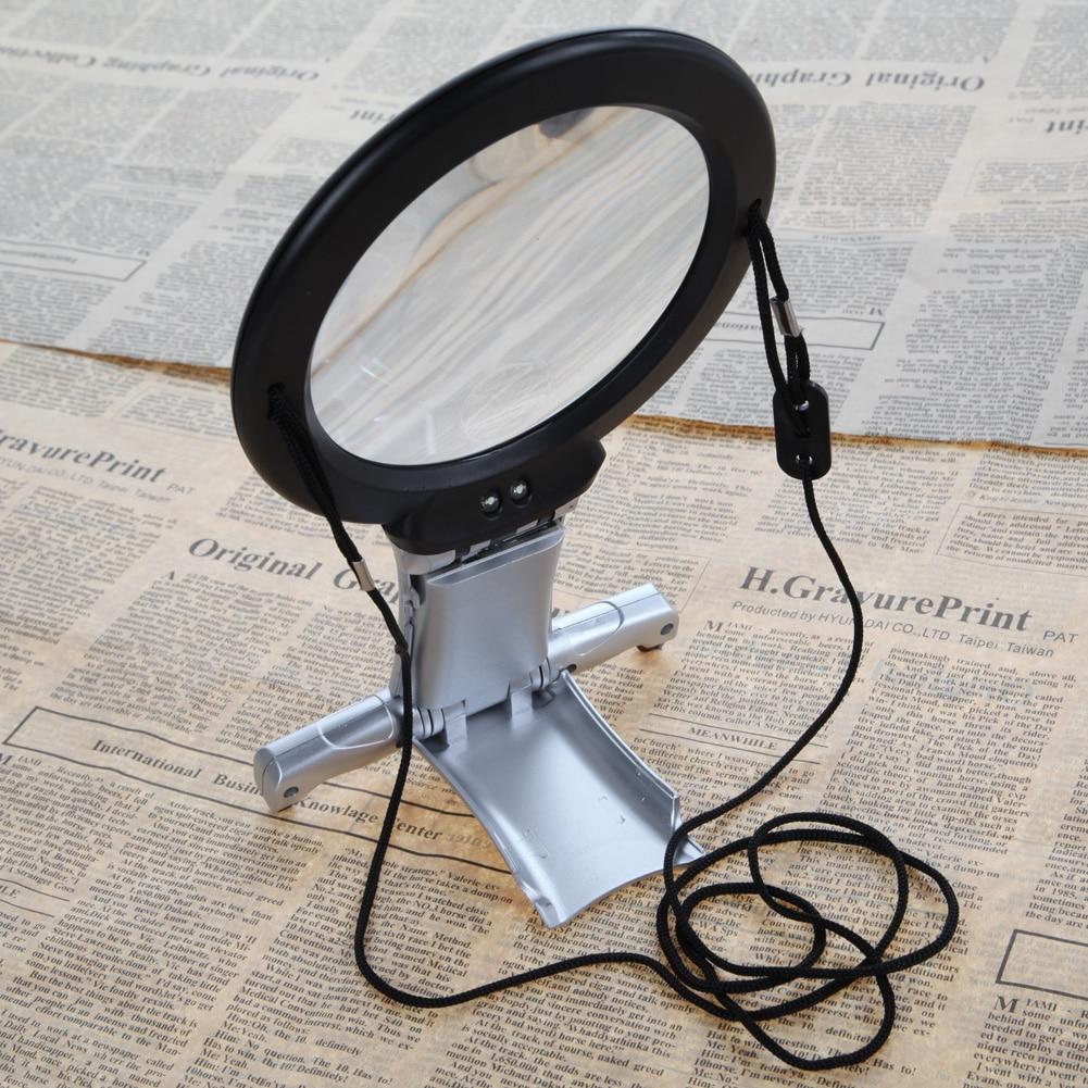 2,5X100 mm-es LED-es nagyító nagyító mini zseb mikroszkóp - Mérőműszerek - Fénykép 5