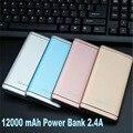 Kailiya Tecnología Portátil Banco de la Energía 12000 mAh Del Cargador de Batería Para iphone4 4S 5 5S 6 6 s plus sumsang xiaomi htc huawei lg