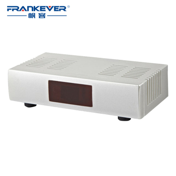 1pcs Factory Price New High Quality TV System AV-RF Audio Video Converter AV To RF Modulator for Russian Market RF-207
