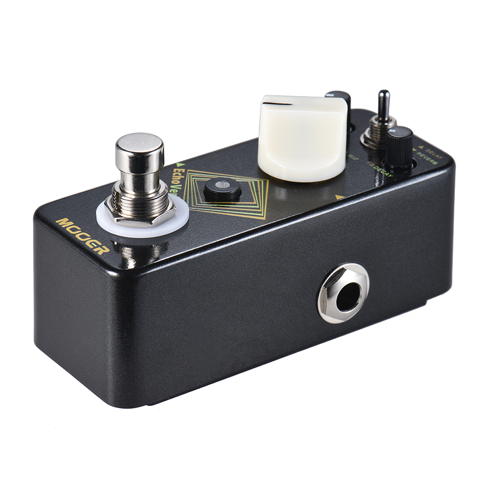 MOOER EchoVerb Digital Delay Reverb Guitar Effect Pedal True Bypass Full Metal Shell With Tap Tempo-in Guitar Parts & Accessories from Sports & Entertainment    3