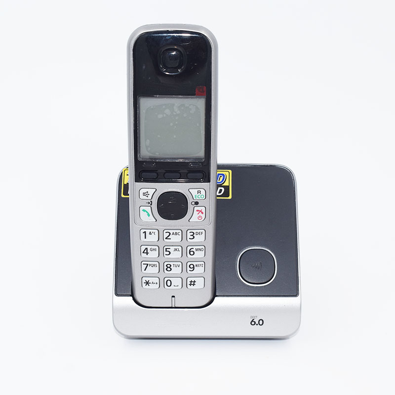 ФОТО Digital Cordless Phone KX-TG6711T Wireless Base Station Cordless Fixed Telephone With Answer Machine For Office Home Bussiness