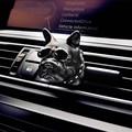 Bulldog Auto Lufterfrischer parfüm Automobil Innen Parfüm Clip Duft Dekoration Bull Hund Ornamente Auto Zubehör