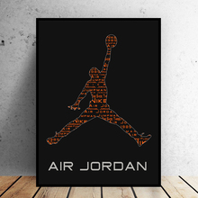 2017 Michael Jordan Basketball Professional Athletes Modern Home Wall Decor Canvas Picture Art HD Print Painting