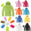 Men Women Wind Coat Windproof Waterproof Raincoat Outwear Jacket