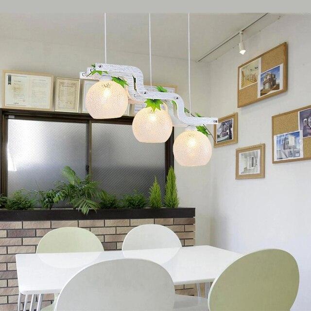 2017 LED Pendant lamp – Modern Minimalist Pendant Lights for Kitchen Dining Room,Bar American Village pendant lamp white 220V