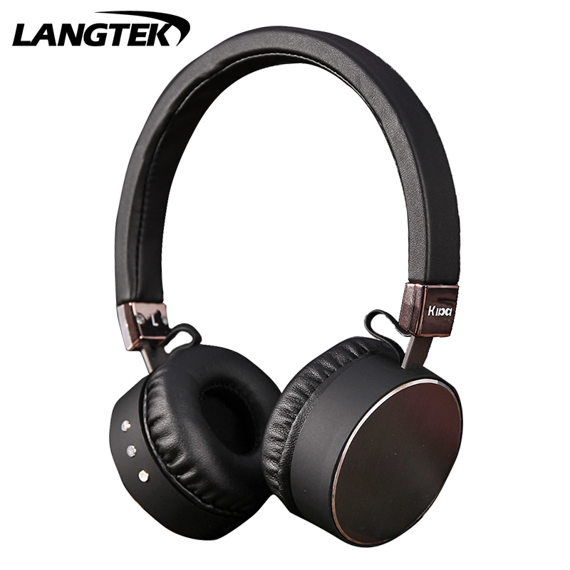LANGTEK A09 wireless + wired Bluetooth headset sports headphones noise reduction microphone mobile phone headset