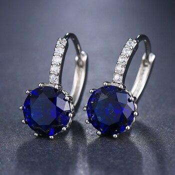 EMMAYA Fashion 10 Colors AAA CZ Element Stud Earrings For Women Wholesale Chea Factory Price 3