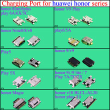 Yuxi micro mini usb porto de carregamento jack conector tomada doca para huawei honor 8 lite/6 plus v9play note8/8/v8/9/v9 play6/5a(China)