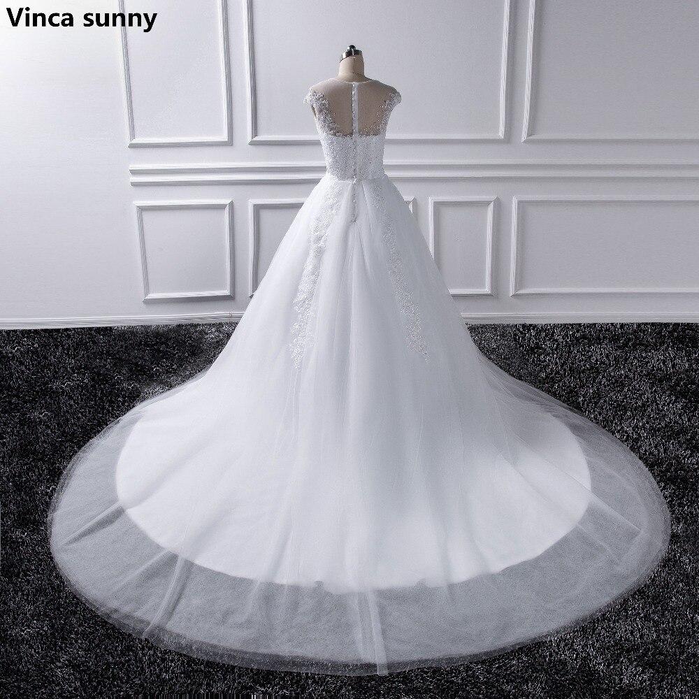 2018 prinzessin Plus Size Brautkleider 2016 Braut Ivory Spitze Weiß ...