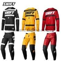 moto Shift Mx Jersey And Pant Top MX ATV BMX Motocross Gear Set long Sleeve Racing Motorcycle Bike Clothing