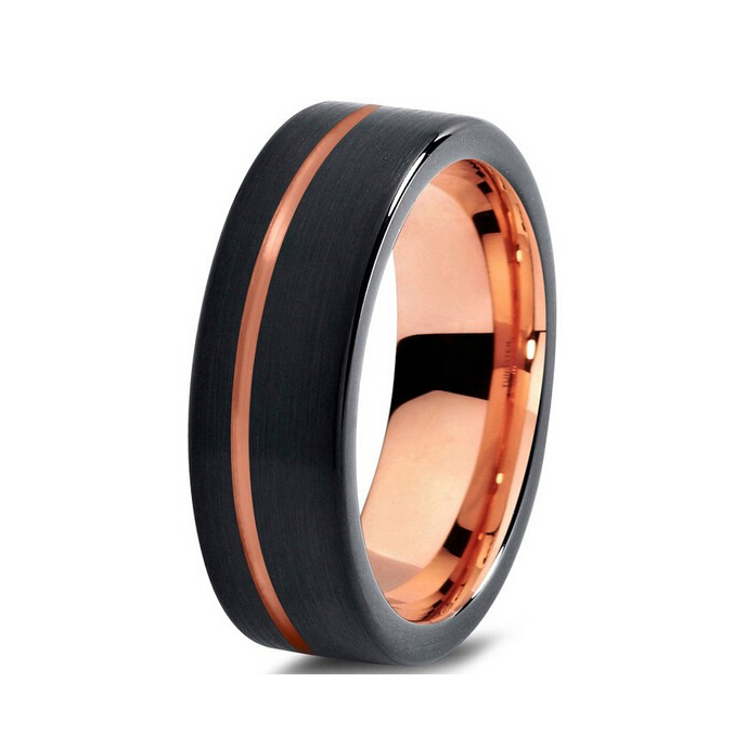 Buy Black And Rose Gold Colors Mens