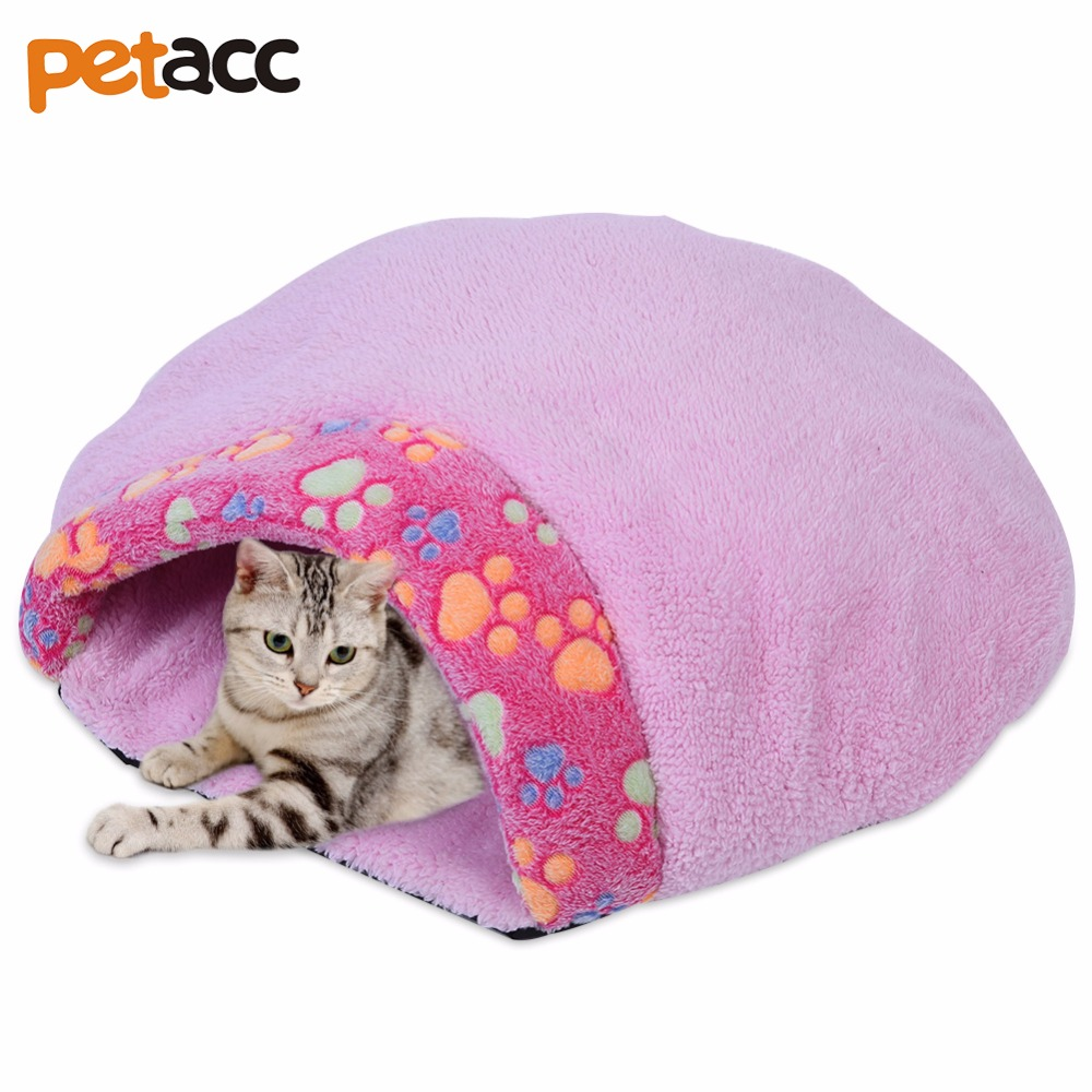 Petacc Hot Pet Products Warm Soft Cat House Pet Sleeping Bag Lovely Hamburger Dog Kennel Pet Bed