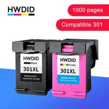 HWDID 301XL Заправка картриджей Замена для hp/hp 301 для hp/hp 301 с чернилами hp Deskjet 1000 1050 2000 2050 2510 3000 3054 принтер