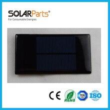 Solarparts 5pcs 65 95 0 5V 1000mA mini epoxy resin solar panel module solar cell kit
