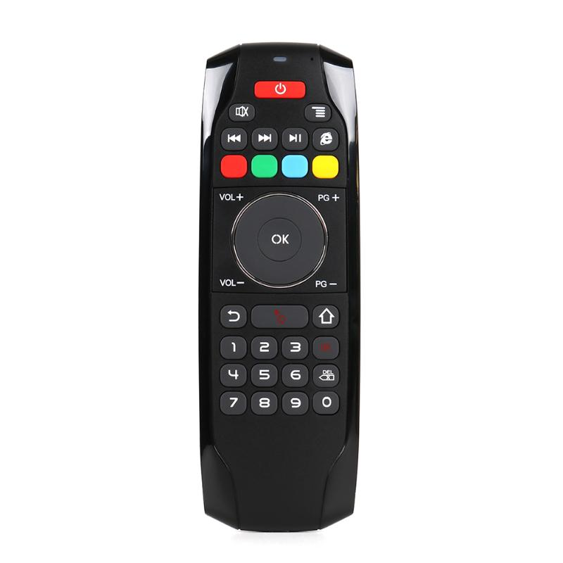 2.4GHz Air Mouse Ergonomic Wireless Mini Keyboard Remote Control for Android Smart TV Box PC Computer Phone High Quality
