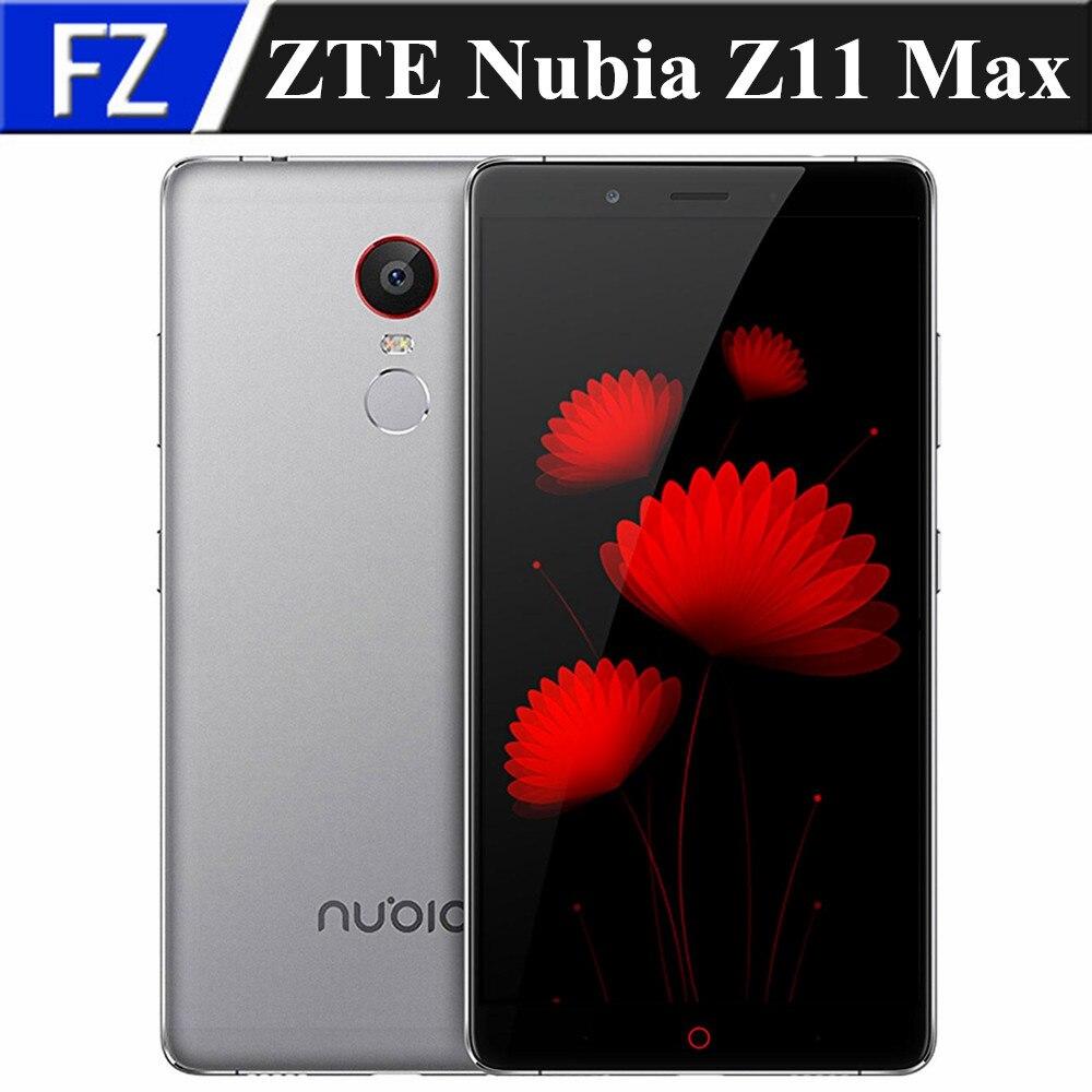 "Цена за Оригинал ZTE Нубия Z11 Макс 6.0 ""FHD Gorilla Glas Android 5.1 4 Г LTE смартфон 4 ГБ RAM 64 ГБ ROM 16MP dual sim OTG отпечатков пальцев"