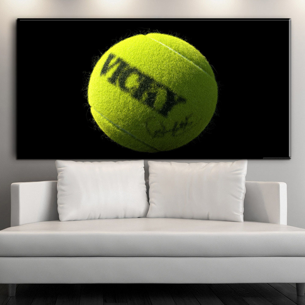 ZZ2137 HD Print Custom Canvas Room Decor Wall Art Hd Tennis Picture For Living Home Decoration Unframed oil paintings art