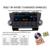 Unidad principal estéreo android 5.1 para toyota highlander 2009-2012 permanente de radio GPS navi Radio headunit wifi gratuito mapa Cabeza Dispositivo