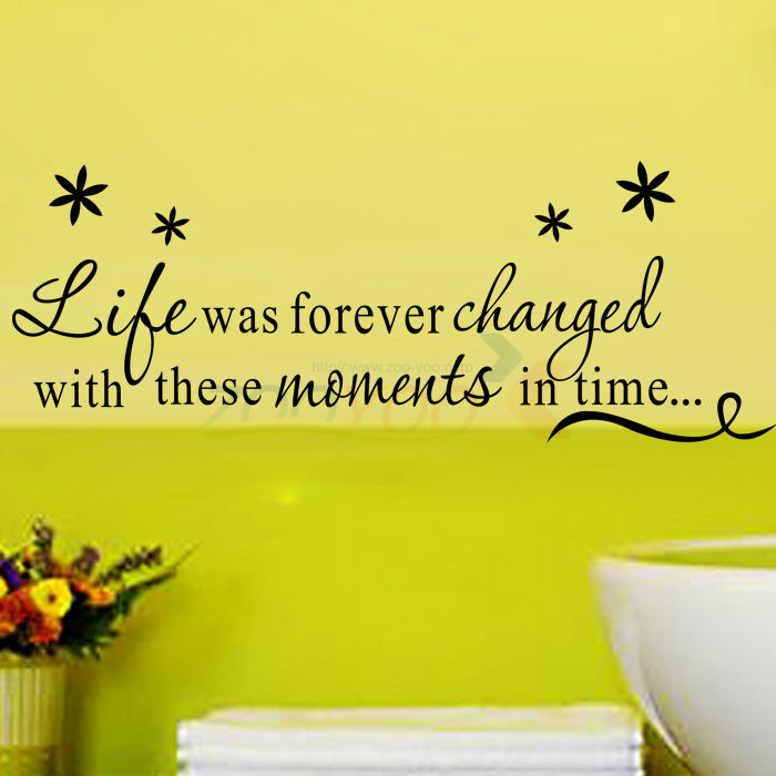Live Laugh Love Family creative wall decal ZooYoo8175 decorative DIY ...
