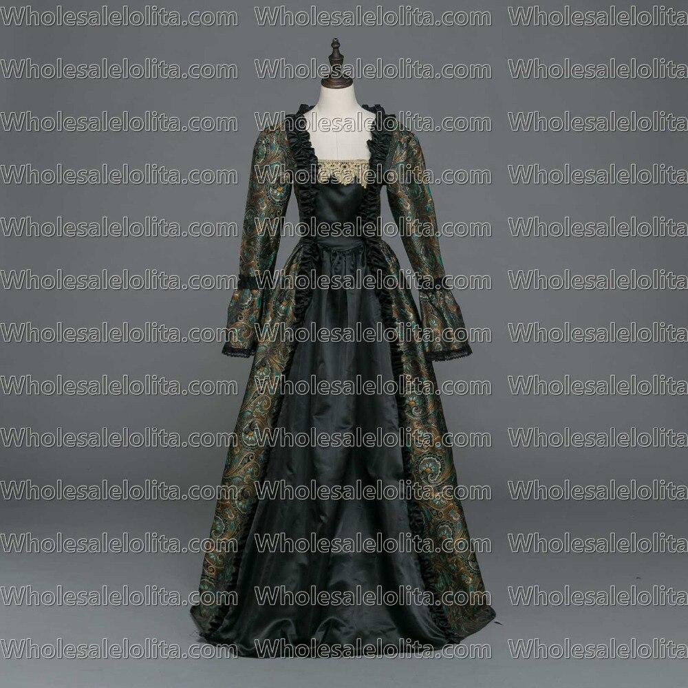 31fcc53c6 Gótico medieval Vestidos brocado vestido Steampunk reenactment ropa en  Disfraces de cine de La novedad y de uso especial en AliExpress.com