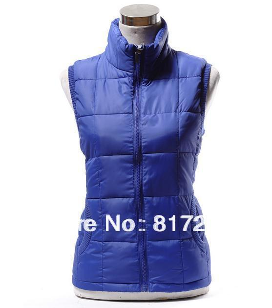 Best-selling Lovers Winter Coat Vest Waistcoat Coat fashion casual waistcoat Seven kinds of color Yellow pink red  blue