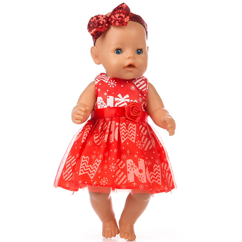 New hairbrand+dress Doll clothes Wear fit 43cm Baby Born zapf, Children best Birthday Gift(only sell clothes) цены онлайн
