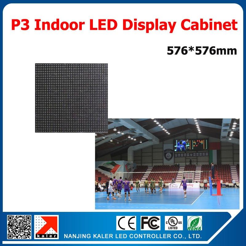 Pantalla led TEEHO P3mm de alta resolución para interiores, pantalla led para escenarios de 576x576mm, 192x192mm, pantalla led de alquiler para Tablero de muestra, reunión de bodas