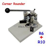 Tarjeta de papel de PVC de envío gratis de alta resistencia R6 R10 30MM de espesor todo Metal ID negocio Criedit redondeador troquelador de esquina