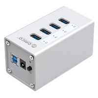 ORICO A3H4 All Aluminum High Speed USB3 0 Hub 4 Port USB3 0HUB Hub With Power