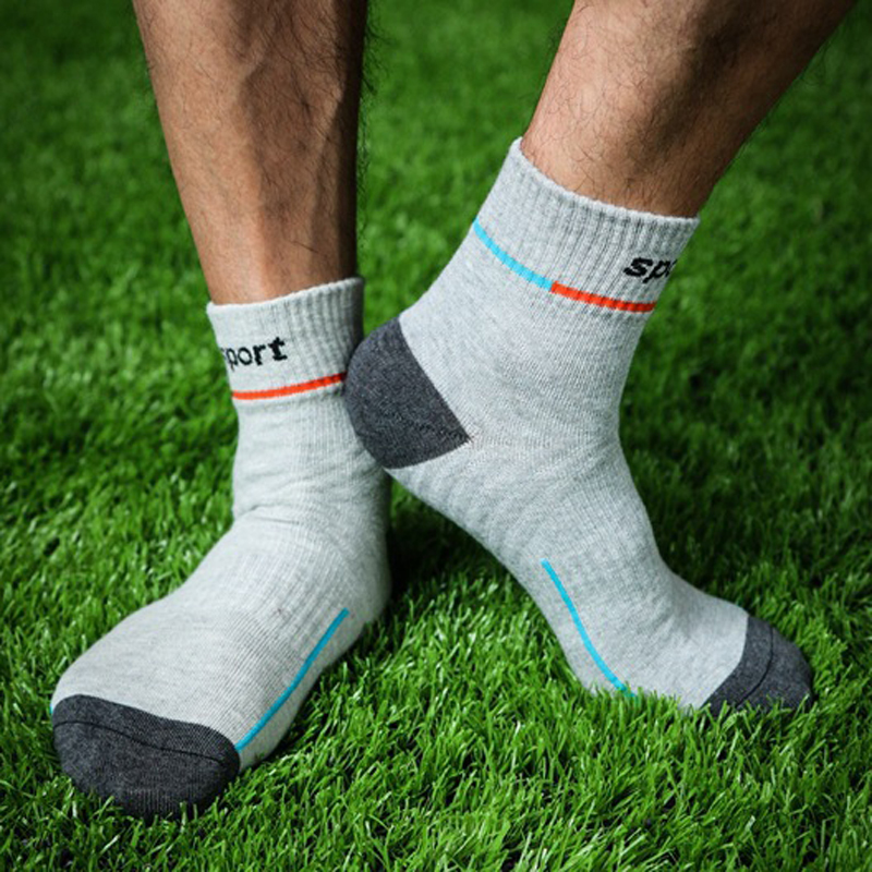 PEONFLY 5 Pairs/Lot   Socks   Men Cotton Spandex Snowboard   Socks   Wearable Thermosocks calcetines de ciclismo