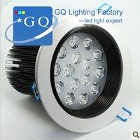 FedEx DHL Free shipping 15W led ceiling light down light led spot light anti-dazzle lamp AC85~265V