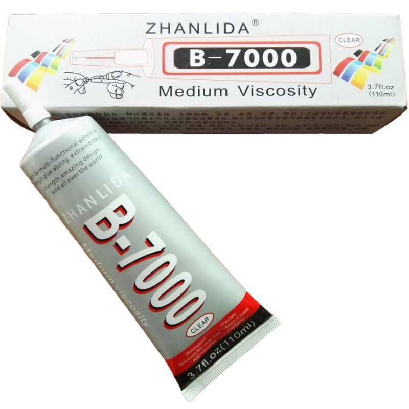B7000 DIY 110ml B-7000 DIY Adhesive Multipurpose Resin Super Glue Jewelry Touch Screen Cell Phone Craft Frame Glass Glue Repair 15ml b7000 multipurpose adhesive diy tool jewelry rhinestones fix touch screen phone middle frame housing glass tube glue b 7000