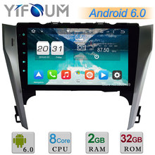 4G Android 6.0.1 10.1″ Octa Core WIFI 2GB RAM RDS DAB AUX Bluetooth Car DVD Player Radio Stereo For Toyota Camry 2012 2013 2014